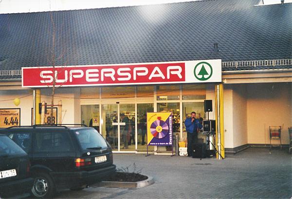 Eröffnung Superspar Einsiedel 2000