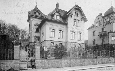 villa johannes seifert um 1908