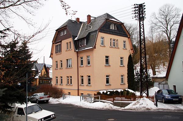 Berbisdorfer Str. 3 in Einsiedel am 7. Februar 2010