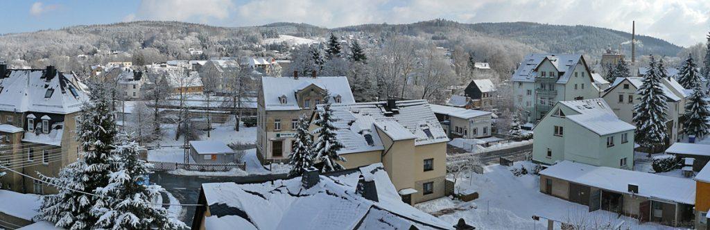 Dachfensterpanorama aus Berbisdorfer Straße 3 Winter 2006