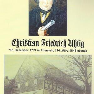 Kalender 2018 Baumeister Christian Friedrich Uhlig