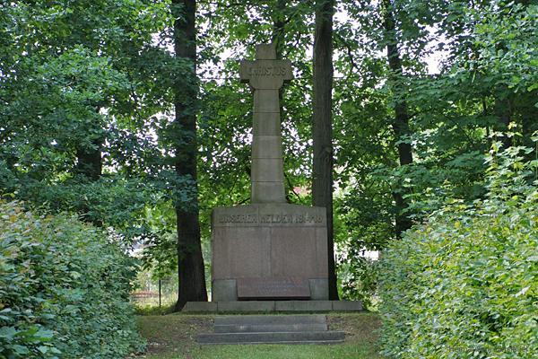 Kriegerdenkmal Einsiedel 26.06.2016