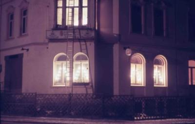 Café zur Talsperre Abendbeleuchtung