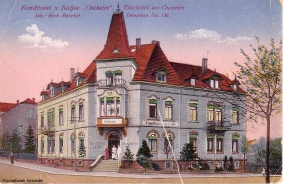 Café Ostheim Einsiedel um 1915
