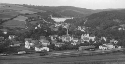 Bahnhof Einsiedel nach 1900