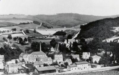 Einsiedler Bahnhof zwischen 1894 und 1899