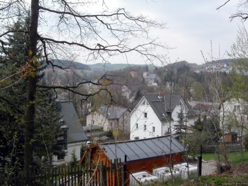 Blick vom Röhrensteig am 24. April 2005