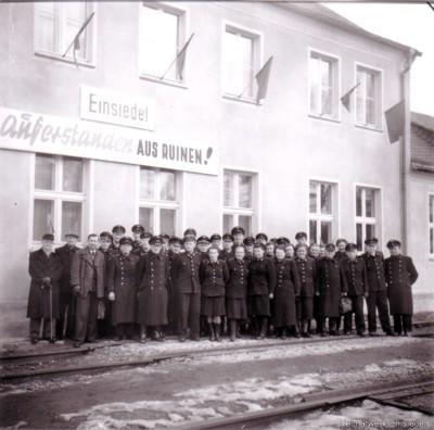 Bahnhof Einsiedel - Auferstanden aus Ruinen
