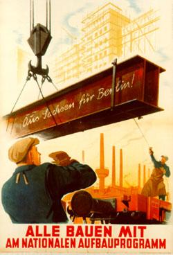 Werbeplakat NAW 1952