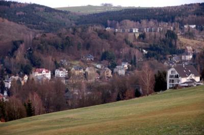 Blick vom Rupfberg aus am 27.12.2009