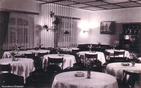 Gastraum vor 1961