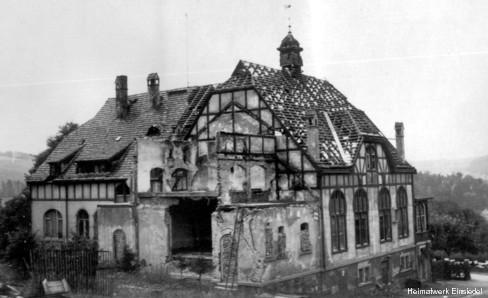 Bombenschaden 1945
