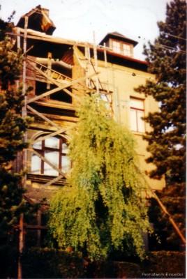 Balkonumbau 1965