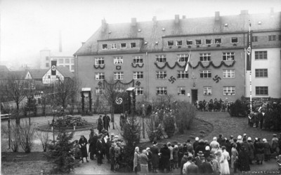 Umbenennung August-Bebel-Platz 1933