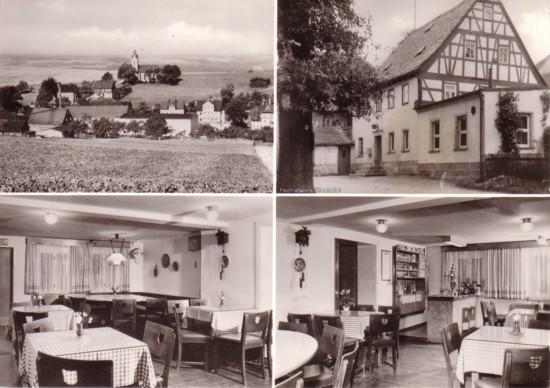 Friedenseiche Berbisdorf Postkarte 1983