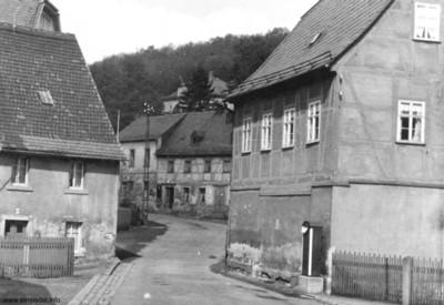 Schieferwinkelhäuser in den 1930er Jahren