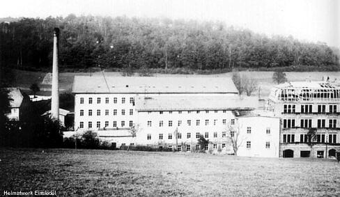 Strumpffabrik Lohs um 1912