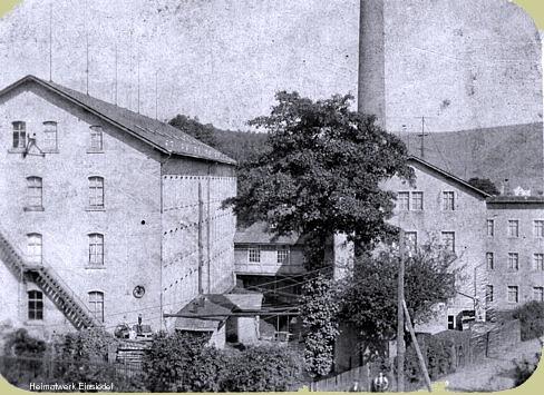 Fabrikanlagen Lohs um die Zeit des 1. Weltkrieges