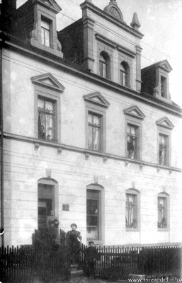 Berbisdorfer Str. 36 um 1909