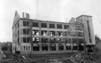 Ruine WeRu Einsiedel 1945