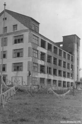 Garntrocknung nach Brand 1959