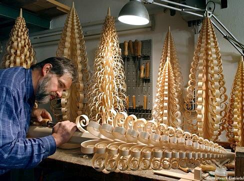Steffen Göthel erschafft Riesenspanbäume