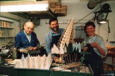 In der Werkstatt von Werner Glöß