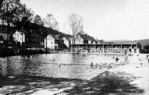 Gemeindebad Einsiedel um 1940