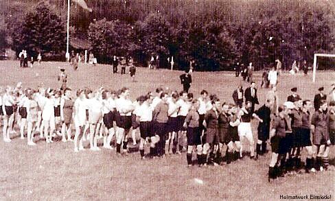 Erstes Turnfest in Einsiedel nach dem Krieg 1945