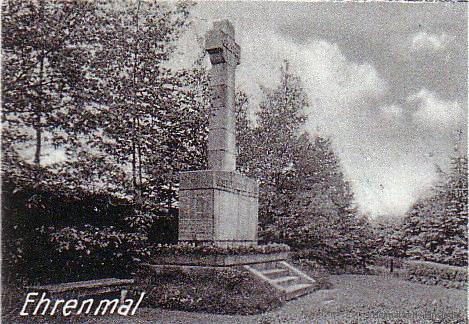 Kriegerdenkmal Einsiedel