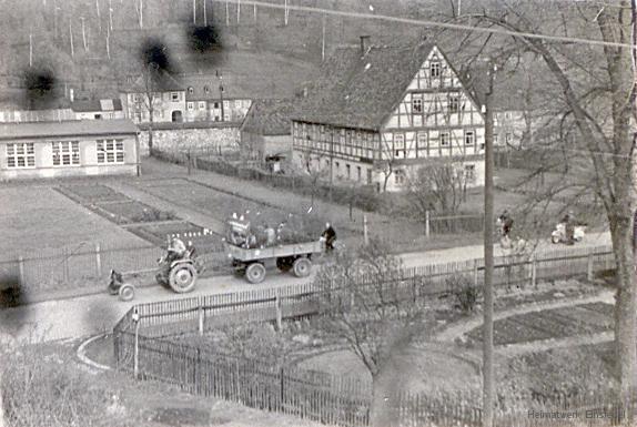 Fachwerkhaus in der Hauptstr. 22 in Einsiedel