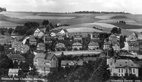 Siedlung Einsiedel bis 1945