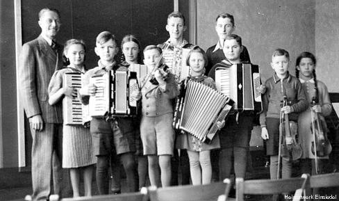 Schulmusik März 1941 in den Einsiedler Schulen