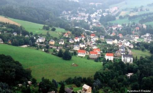 Luftbild Siedlung Einsiedel 2005