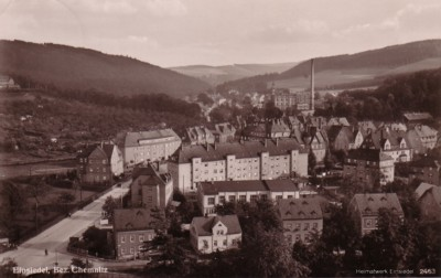 Hans-Schemm-Straße Einsiedel um 1936