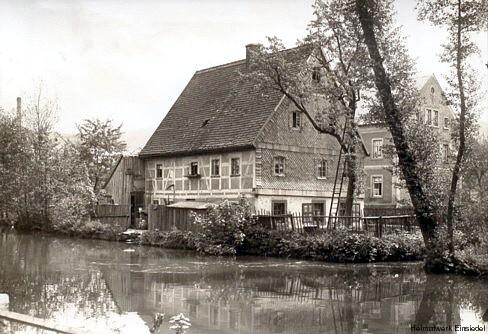Langhäusel in Einsiedel Mitte der 1920er Jahre