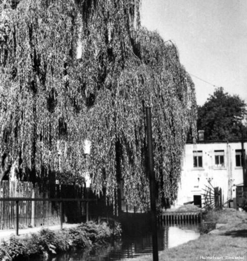 Mühlgraben der Firma Hahn 1940