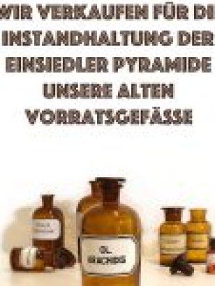 Apotheke Einsiedel: Verkauf alter Gefäße