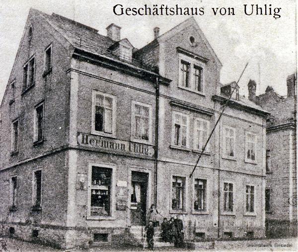 Kolonialwaren Uhlig Einsiedel 1916