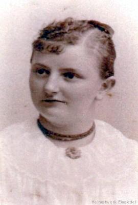 Elise Marie Ehinger, verheiratet Müller