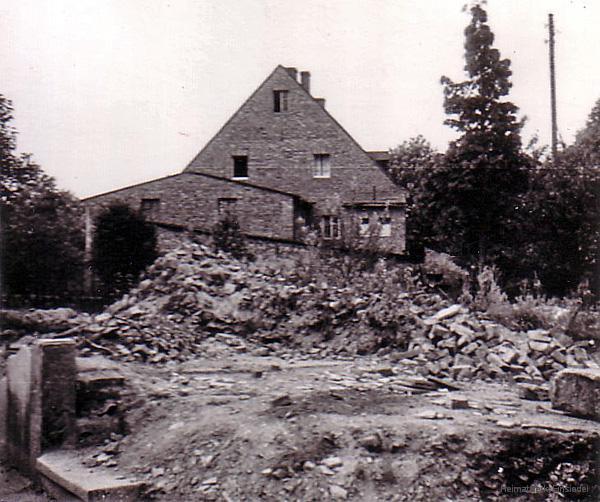 Trümmerreste 1952