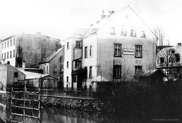 Kaufmann Paul Grimmer, Einsiedel, um 1925