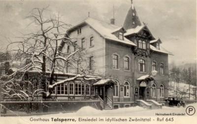 Lißners Restaurant im Winter