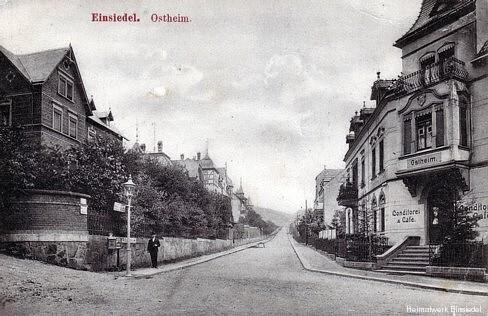 Postkartenverlag und Buchbinderei Max Zickmantel Einsiedel