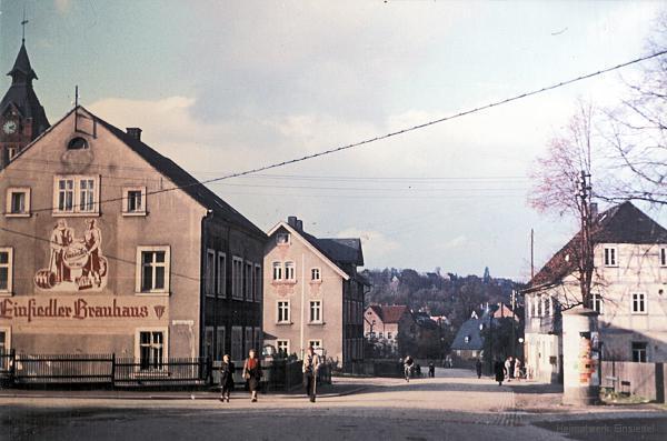 """Einsiedler Brauhaus und """"Drei Eichen"""" in den 1960er Jahren"""