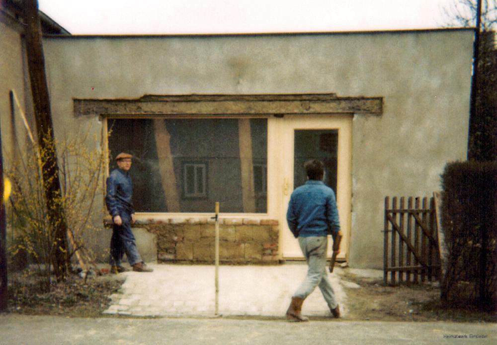 Ladenausbau Ostern 1991