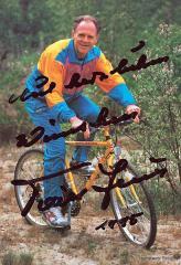 Autogrammkarte Täve Schur 1995