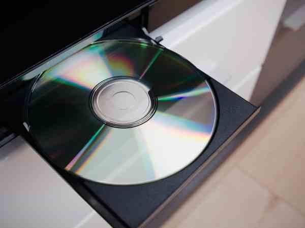 Nahaufnahme DVD-/Blu-ray-/CD-Player