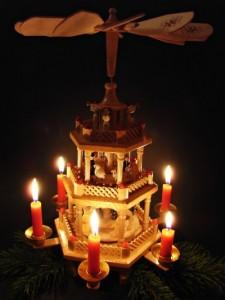 Weihnachts-Pyramide selbst bauen