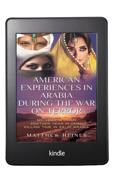 American Experiences in Arabia During the War On Terror